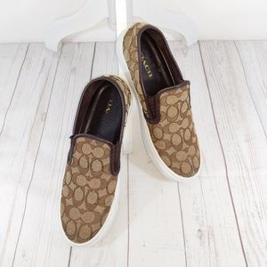 Authentic Coach Slip-ons